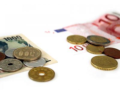 日本円と海外通貨の交換