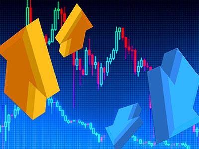 乱高下する株式市場