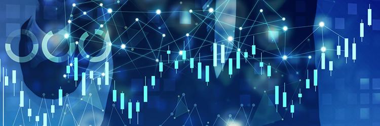 株価変動のイメージ
