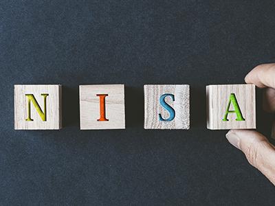 NISAを表す模型